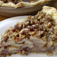 Country Apple Crisp Pie