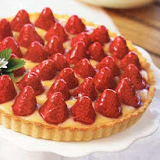 Strawberry-Lemon Curd Tart