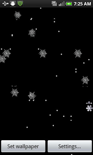 MySnowfall Live Wallpaper-Free