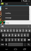 Screenshot of Messaging Classic - 4.4 Kitkat