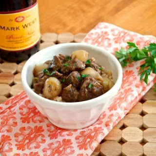 Beef Bourguignonne with Pearl Barley