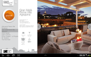 Screenshot of Gourmet Terraces - Rome
