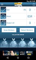 Screenshot of Panini Collectors