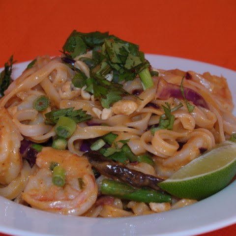 Thai-Style Spicy Shrimp And Noodles