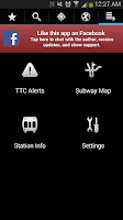 Screenshot of Transit Now Toronto for TTC