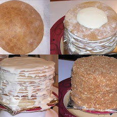 15 Layer Russian Honey Cake