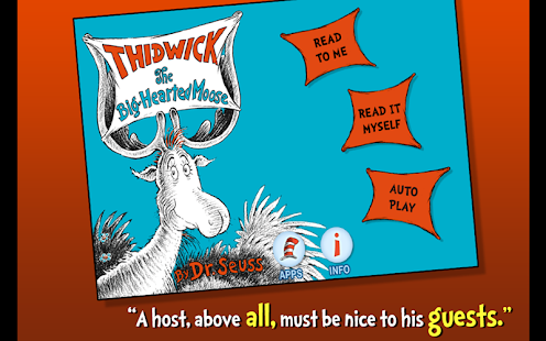 Thidwick - Dr. Seuss - screenshot