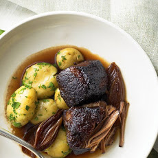 Red Wine Braised Beef Brisket