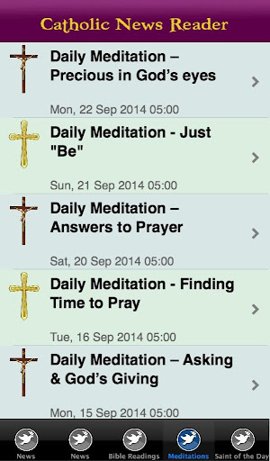 Catholic Reader - screenshot