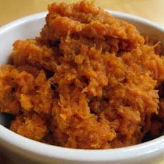 Balsamic Mashed Sweet Potatoes