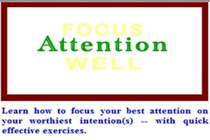 Screenshot of Focus Well