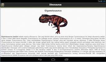 Screenshot of Dinosaurus