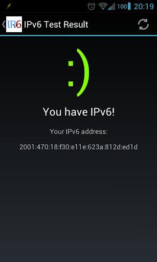 IPv6 Detector