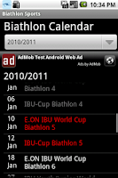 Screenshot of Biathlon sports