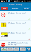 Screenshot of LGV Theory Test UK Lite