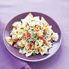 Smoked Salmon and Farfalle in Lemon Cream Sauce