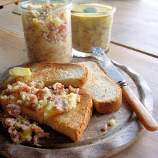 Potted Shrimps for a Traditional Yorkshire Shrimp Tea