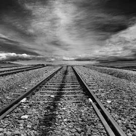 by Rumna Mukherjee - Transportation Railway Tracks