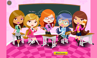Screenshot of Princesses School Dress Up