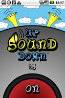 Screenshot of UpSoundDown