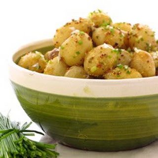 Warm Potato Salad with Lemon and Chive Vinaigrette