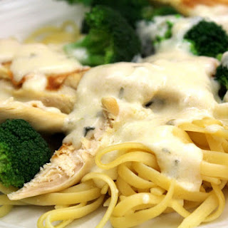Dairy Free Chicken Broccoli Alfredo