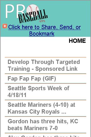 Seattle Pro Baseball News