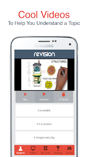 Revision App - GCSE & A-Level - screenshot