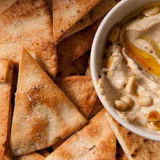 Baked Pita Chips Recipe