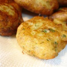 Jamaican Saltfish Fritters (Stamp and Go)