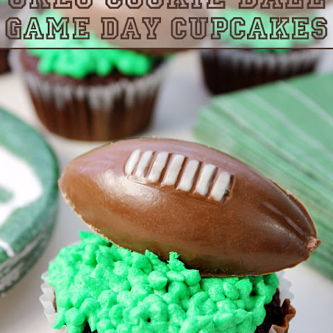 OREO Cookie Ball Game Day Cupcakes