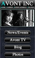 Screenshot of Avont Inc. Live App