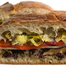 Vegetarian Muffuletta Recipe