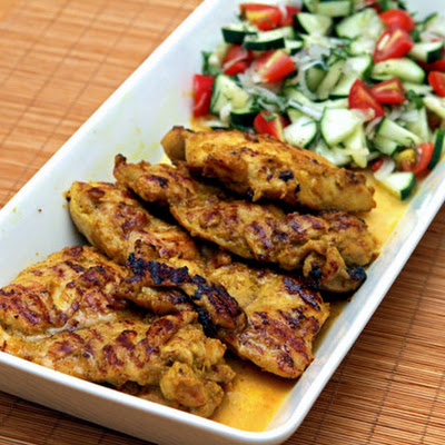 Barbara Kafka's Tandoori Chicken