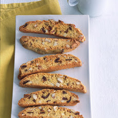 Cornmeal Biscotti with Dates and Almonds