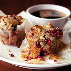Raspberry Coffee Time muffin