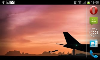 Screenshot of Airplanes -Live- Wallpaper