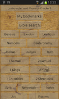 Screenshot of Bible - old testament