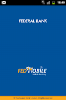 Screenshot of Federal Bank - FedMobile