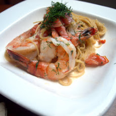 Shrimp in Sambuca Cream Sauce