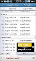 Screenshot of Russian Verbs Pro (Demo)