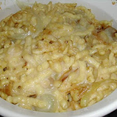 Spaetzle Noodle and Cheese Bake