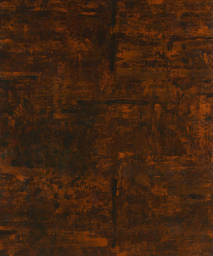 """<strong>Komyo I</strong> <br />Oil on canvas over panel <br />60"""" x 50"""" <br />2007"""