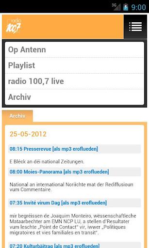 【免費娛樂App】radio 100,7-APP點子
