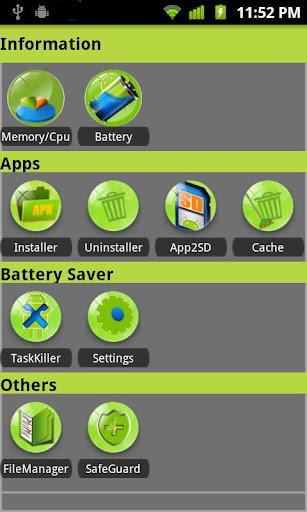 A Super Box中-缓存清理 文件管理 电池管理