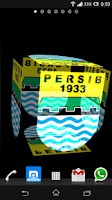 Screenshot of 3D Persib Bandung Wallpaper