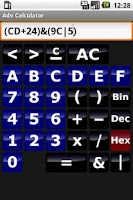 Screenshot of Adv Calculator (Science&Logic)