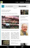 Screenshot of Metsälehti