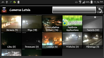 Screenshot of Latvijas vebkameras