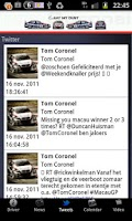 Screenshot of Tom Coronel